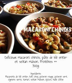 macaroni chinois vegan