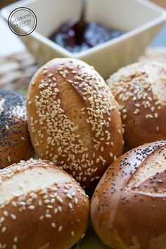 Bread Bun, Pan Bread, Bread Rolls, Baby Food Recipes, Dessert Recipes, Bread Recipes, Home Baking, Polish Recipes, Food To Make