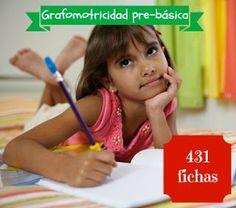 431 Fichas de grafomotricidad prebásica
