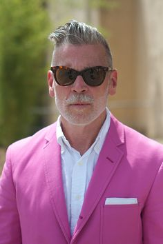 Real men have no problem with pink: embrace it