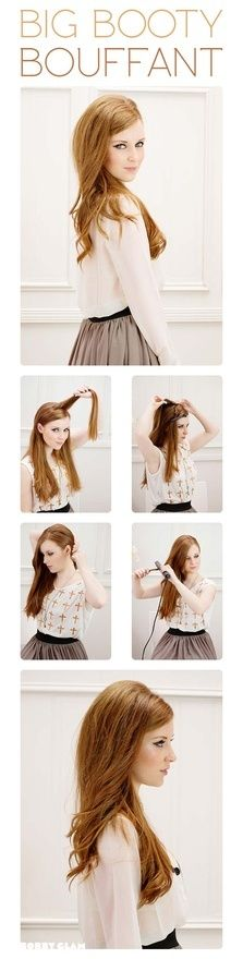 Loving how simple (and super adorable) this hair tutorial is!