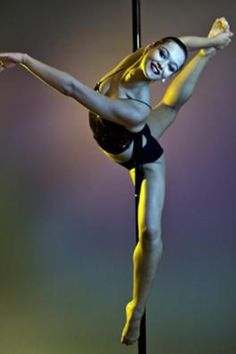 Ultimate Ballerina! Work on the shoulder flexibility, back & legs!