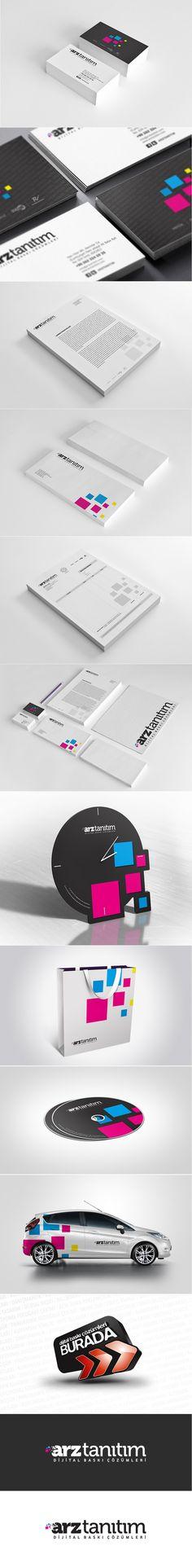 Arz Tanitim Branding Graphic Design by Sedat Gever