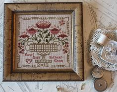Back from Market - Blackbird Designs - One stitch at a time