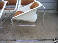 Lotus Chair (aka Chair 2000) by Artopex, designed by Paul Boulva for the 1976 Olympics in Montral, produed 1976-1981
