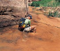 Quicksand isn't just in old Westerns, it's also a real backcountry hazard. Learn how to save your life when faced with the slippery stuff.