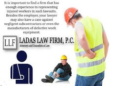 If you need a Massachusetts construction accident injury lawyer, you can contact Ladas Law Firm which specializes in these cases.We have represented hundreds of workers and will be happy to discuss our work. Visit our website http://www.ladaslaw.com/.