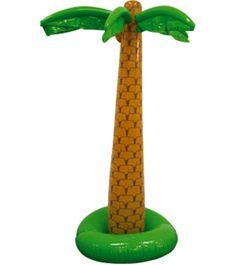 Hawaii palmboom opblaasbaar. Hawaii of tropisch feestje? Bij Fun en Feest vind je de leukste Hawaii feestartikelen, versiering en decoratie.