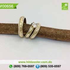 Tríos de bodas en plata y oro 14 KT  RD $8,750 pesos  Grabado .... GRATIS !!!!