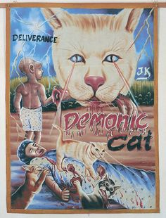 Ghana movie posters, featured in Raw Vision 60 http://rawvision.com/articles/ghana-movie-posters-spectacle-sackcloth