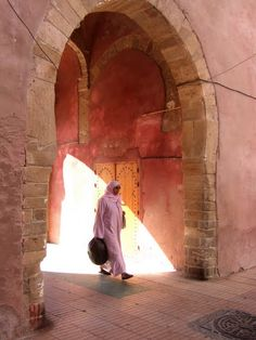 All in pink-Morocco
