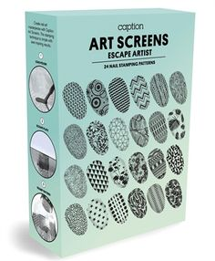 How-To: Caption Polish Art Screens and Lucents Collection - Technique - NAILS Magazine