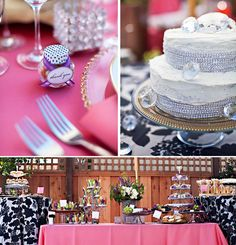 """Sparkly """"Spring Bling"""" Bridal Shower // Hostess with the Mostess®"""