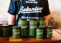 Green, Cold-Pressed Juice Artisans at Botanica Juices - Broadsheet