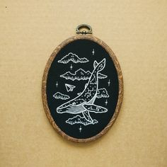 DIY Sewing Bird Planet Embroidery Patch Applique Set Craft Number Constellation