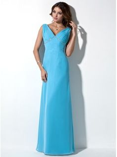 Evening+Dresses+-+$133.99+-+A-Line/Princess+V-neck+Floor-Length+Chiffon+Evening+Dress+With+Ruffle+Beading++http://www.dressfirst.com/A-Line-Princess-V-Neck-Floor-Length-Chiffon-Evening-Dress-With-Ruffle-Beading-017039550-g39550