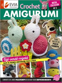Crochet Amigurumi No 2016 - Spanish Crochet Books, Love Crochet, Learn To Crochet, Knit Crochet, Crochet Hats, Amigurumi Tutorial, Crochet Patterns Amigurumi, Amigurumi Doll, Knitting Magazine