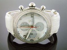 NEW Large Bubble Round Aqua Master 3.50ct w/ Diamonds White Face Aqua Master, http://www.amazon.com/dp/B0086HDVZU/ref=cm_sw_r_pi_dp_dydXpb1AQN0SC