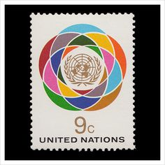 United Nations Stamps via ISO50