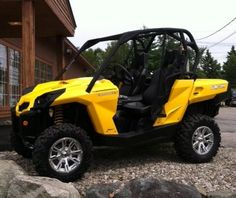 Nice Can Am..wouldnt mine this to play around in.
