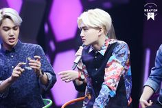 140611 Kai Suho - Happy Camp Recording [cr: made in heaven]