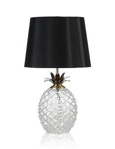 Pineappley Goodness | Puerto Table Lamp | M&S