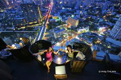 Sukhumvit Road in Bangkok waited a long time for its very own rooftop bar, and then finally one came along and showed the rest of them how it should really be done. Octave Rooftop and Lounge is more than a place for watching the sunset or having a romantic