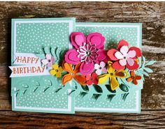 The TGIF challenge site is turning 1 this week and to celebrate I've made them a card (as part of their competition). #tgifchallengesdotcom ...