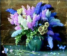 Delphiniums.This makes me think of my mom she loved these.
