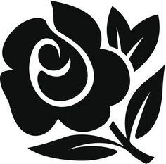 black-rose-tattoo-design.jpg (399×394)