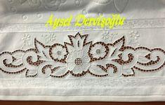 Neşe'nin gözdeleri Point Lace, Cut Work, Arte Popular, Border Design, Crochet, Pattern, Machine Embroidery Patterns, Tray Tables, Monograms