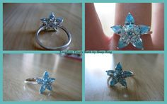 Kingdom Hearts Birth By Sleep Aqua Ring by WhatTheSprinkles.deviantart.com on @deviantART