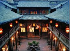 Wang's Family Courtyard is typical housing architecture from the Qing Dynasty. Located inJingsheng Town, Linshi County, Jinzhong City, Shanxi Province(山西省晋中市灵石县静升镇)of central China, the courtyard belonged to a prominent family at that time. It becomes a China's architectural museum today.