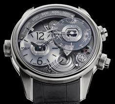 Génie 01   Breva Watch -2014 = http://forbesbrasil.br.msn.... Utilidades...O relógio meteorológico de US$ 170.000 = Destaque no salão de Genebra abril 2014 = Breva Geniè 01 .