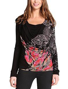 Desigual Desigual - Camiseta de manga larga con cuello redondo para mujer, color negro 2000, talla 46 Desigual http://www.amazon.es/dp/B00JPCMTW6/ref=cm_sw_r_pi_dp_5K2Wvb0G787PQ