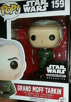 Funko Pop! Grand Moff Tarkin #159 Star Wars Smuggler's Bounty exclusive