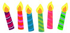 Candle Clipart for your projects or classroom. Free PNG files that will size to A3. Classroom Clipart.