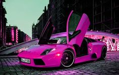 Girly Cars & Pink Cars Every Women Will Love!: Pink Lambo