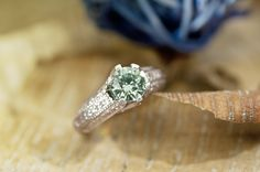 #Moissanite Luisant Mint solitaire #ring for $329.99