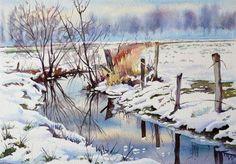 rivière de neige | Joël SIMON