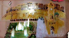 Carousel, Fair Grounds, Glass, Travel, Painting, Viajes, Drinkware, Corning Glass, Painting Art