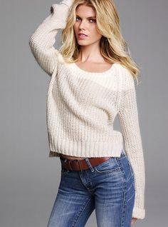 Boyfriend Sweater #VictoriasSecret http://www.victoriassecret.com/clothing/all-sweaters/boyfriend-sweater?ProductID=68645=OLS?cm_mmc=pinterest-_-product-_-x-_-x