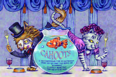 """""""CAHOOTS"""" poster project. #illustration#"""
