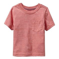 Old Navy Pocket Tees For Baby ($3.99) ❤ liked on Polyvore featuring baby, kids, baby clothes, baby boy and baby stuff