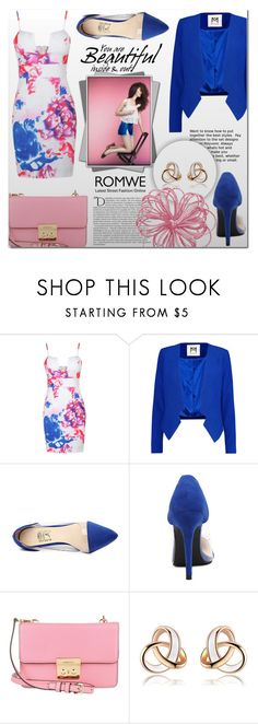 """""""ROMWE 4"""" by mini-kitty ❤ liked on Polyvore featuring Milly, Michael Kors, Balmain and romwe"""