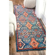 Shop for nuLOOM Traditional Ornamental Diamonds Multi Runner Rug (2'6 x 8'). Get free shipping at Overstock.com - Your Online Home Decor Outlet Store! Get 5% in rewards with Club O! - 18915053