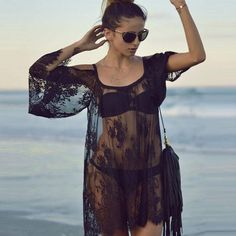 Sexy Lace Swimsuit Dresses