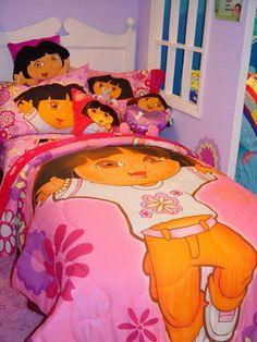 Dora What A Day To Explore Standard Sham . $9.99
