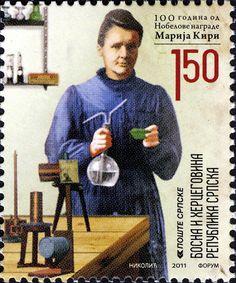 Prix Nobel de chimie 1911 - Marie Curie
