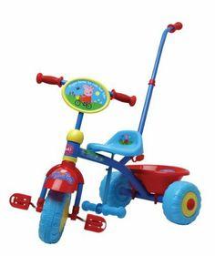 Peppa Pig Trike (Colours May Vary) by Mookie. $244.99